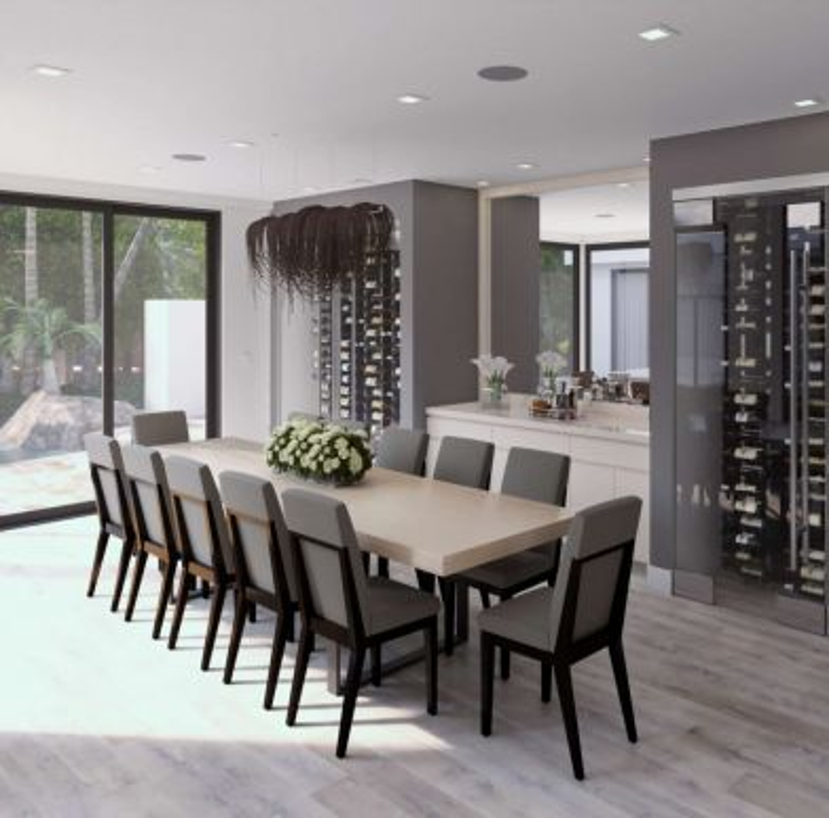 Mulholland Drive Dining Room