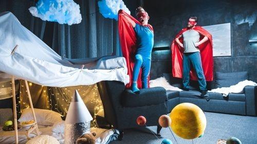 Superhero Interior Design is Big on Color & Inspiration