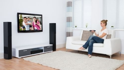A Simple Guide to the Optimal TV Height for Large Screens