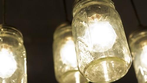 How to Create a DIY Mason Jar Pendant Light + More Ideas